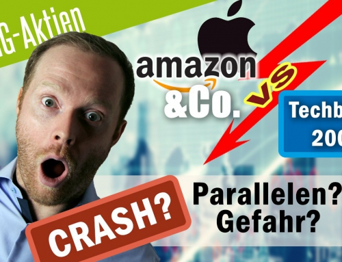 Crash bei Apple, Amazon & Co vs. Dot-Com-Crash 2000 – Paralellen? Gefahr?