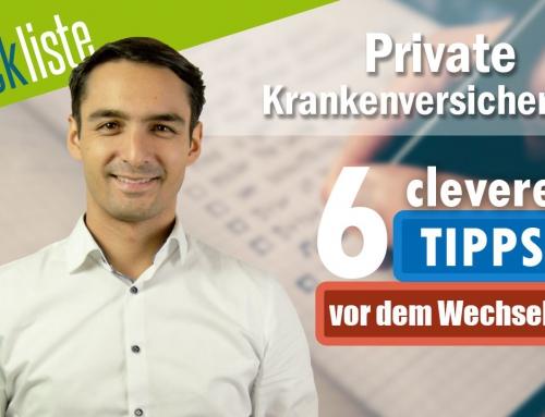 PKV Checkliste ✅ 6 Tipps worauf du vor dem Wechsel achten solltest ❗️