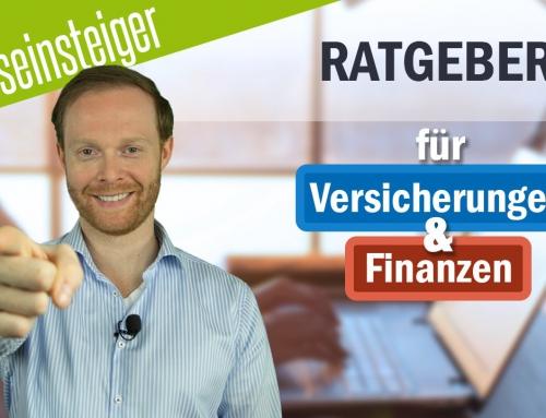 BERUFSEINSTEIGER: Ratgeber für Versicherungen und Finanzen