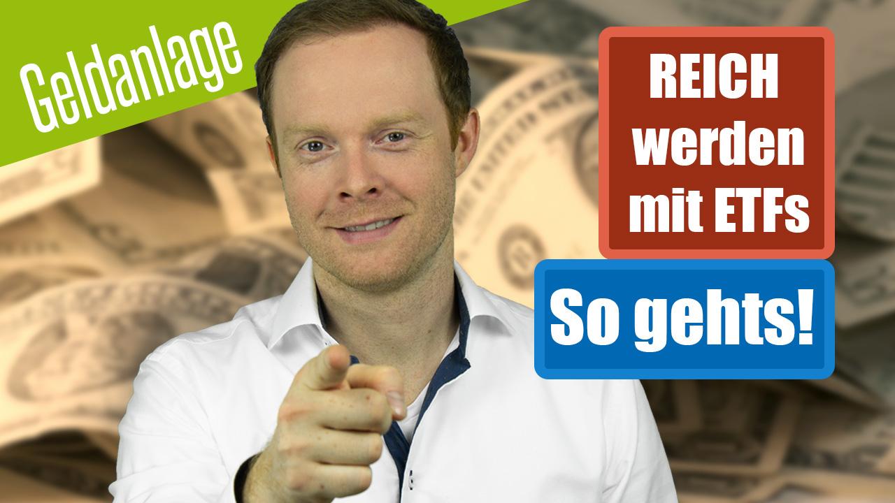 Reich werden mit ETFs - 30.000% Rendite - So geht's