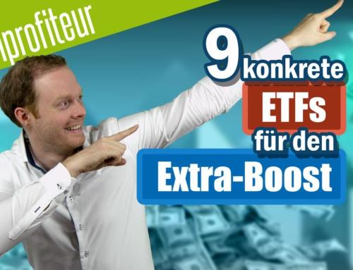 ETF CRASHPROFITEURE –  3 Ideen mit 9 konkreten ETFs für den EXTRA-BOOST aus der Krise
